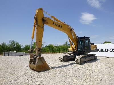 2007 HYUNDAI ROBEX 320NLC-7A Pelle Sur Chenilles Hydraulic Excavator