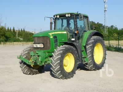 2011 JOHN DEERE 7530 PREMIUM 4x4 Tracteur Agricole MFWD Tractor