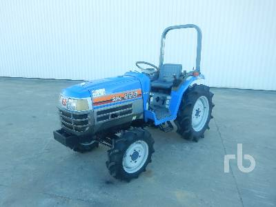 ISEKI SIAL 223 4x4 Tracteur Utilitaire 4WD Utility Tractor