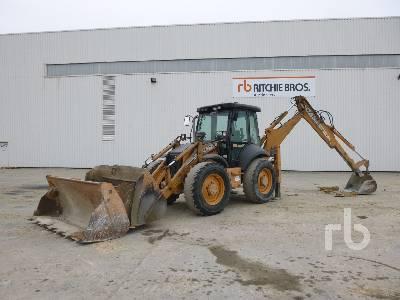 2008 CASE 695SR2-4PS Tractopelle 4x4x4 Loader Backhoe