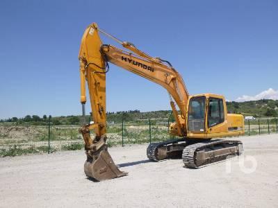 2007 HYUNDAI ROBEX 210 NLC-7 Pelle Sur Chenilles Hydraulic Excavator