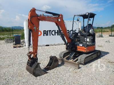 2013 HITACHI ZX29U-3 YLR Mini-Pelle Mini Excavator (1 - 4.9 Tons)
