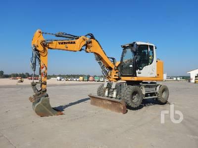 2015 LIEBHERR A910 COMPACT Mobile excavator Mobile Excavator