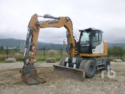 2014 LIEBHERR A912C COMPACT Mobile excavator Mobile Excavator