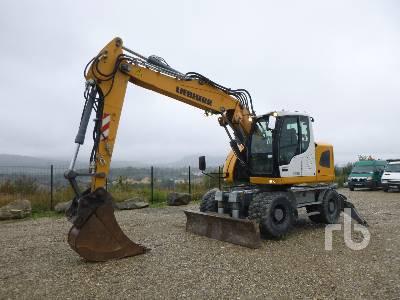 2014 LIEBHERR A918 COMPACT Mobile excavator Mobile Excavator