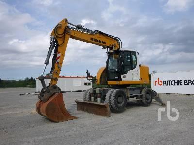 2016 LIEBHERR A918 COMPACT Mobile excavator Mobile Excavator