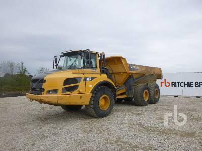 2014 VOLVO A25F 6x6 Articulated Dump Truck