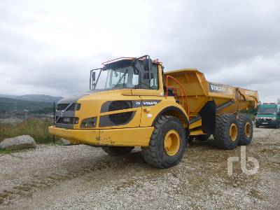 2014 VOLVO A25G 6x6 Articulated Dump Truck