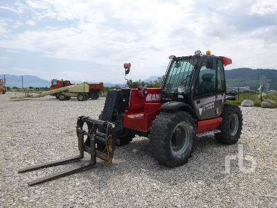 2015 MANITOU MLT845-120H 4500 Kg 4x4x4 Telescopic Forklift