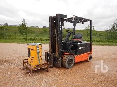 2015 DOOSAN B25X-5 2500 Kg Electric Forklift