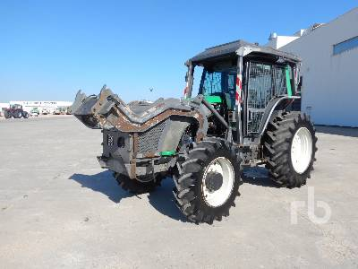 2007 VALTRA T121H 4WD Forestry Tractor MFWD Tractor