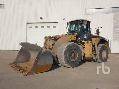 2005 CAT 980 GII Wheel Loader
