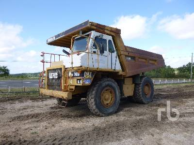 1996 CAT 769D 4x2 Rock Truck