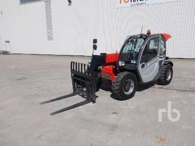 2016 MANITOU MT625H 2500 Kg 4x4x4 Telescopic Forklift