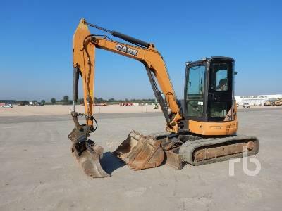 2012 CASE CX50BS2 Mini Excavator (1 - 4.9 Tons)