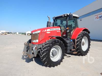 2013 MASSEY FERGUSON 7619 Dyna-6 4WD Agricultural Tractor MFWD Tractor