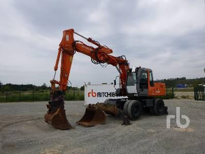 2006 HITACHI ZX160W Mobile Excavator