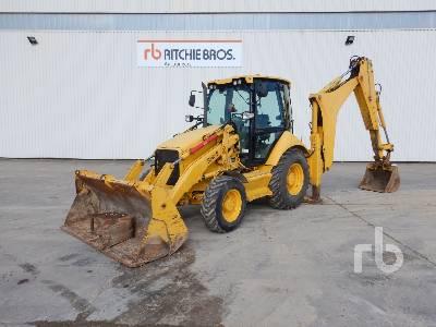 2011 CAT 432E 4x4 Loader Backhoe