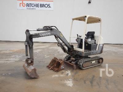 2006 VOLVO EC15B-XTV Mini Excavator (1 - 4.9 Tons)