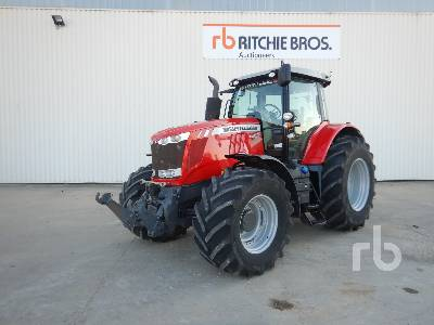 2012 MASSEY FERGUSON 7620 Dyna-VT Exclusive 4WD Agricultural MFWD Tractor