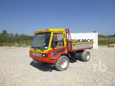 LINDNER UNITRACT 75 4x4 Tracteur Utilitaire 4WD Utility Tractor