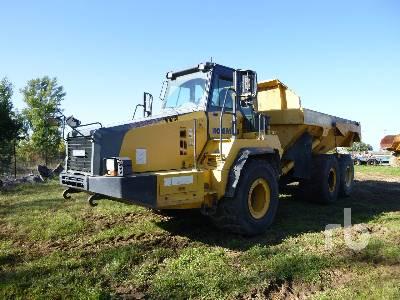 2010 KOMATSU HM300-2 6x6 Articulated Dump Truck