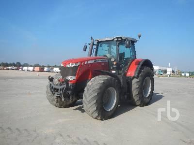 2010 MASSEY FERGUSON 8670 MFWD Tractor
