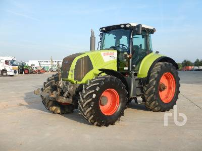 2009 CLAAS AXION 850 MFWD Tractor