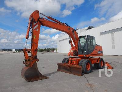 CASE WX165 Mobile Excavator
