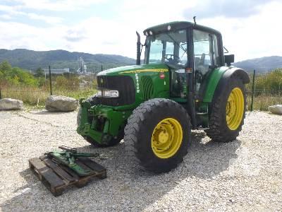 2003 JOHN DEERE 6420 4x4 Tracteur Agricole MFWD Tractor