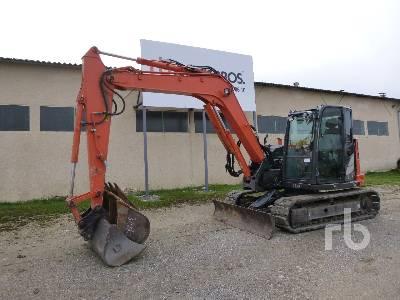 2016 HITACHI ZX85USB-5A Midi Excavator (5 - 9.9 Tons)