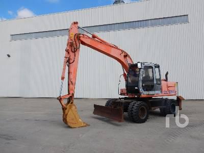 HITACHI EX135W Mobile Excavator