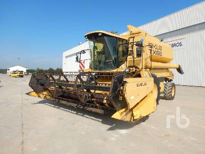 1998 NEW HOLLAND TX66 Small Grain Combine