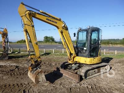 2010 KOMATSU PC50MR-2 Midi Excavator (5 - 9.9 Tons)