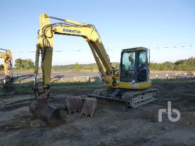 2008 KOMATSU PC88MR-6 Midi Excavator (5 - 9.9 Tons)