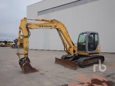 2008 NEW HOLLAND E80-1ES Midi Excavator (5 - 9.9 Tons)