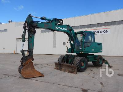 2008 VOLVO EW140C Mobile Excavator