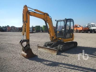 2007 JCB 8060 Mini Excavator (1 - 4.9 Tons)