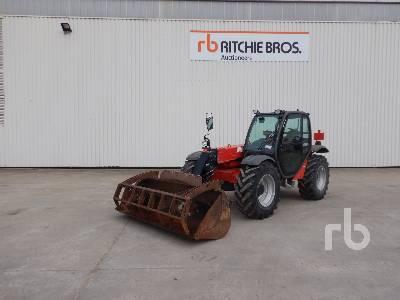 2012 MANITOU MLT627T 2700 Kg 4x4x4 Telescopic Forklift