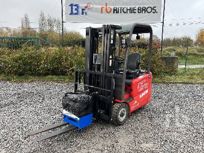 2017 MANITOU ME315 Electric Forklift