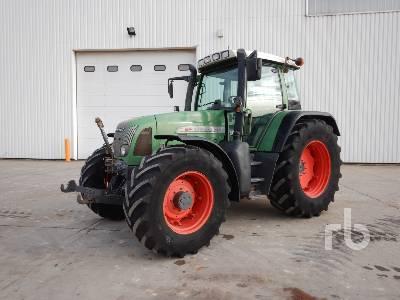 2002 FENDT FAVORIT 714 VAR 4x4 Tracteur Agricole MFWD Tractor