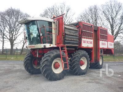 AGRIFAC WKM-BIG SIX Sugar Beet Harvester
