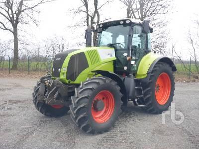 2006 CLAAS AXION 810CEBIS MFWD Tractor