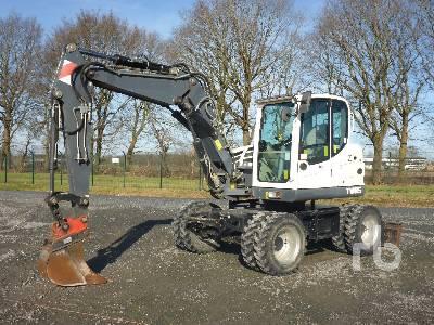 2013 TEREX TW85 4x4 Mobile Excavator