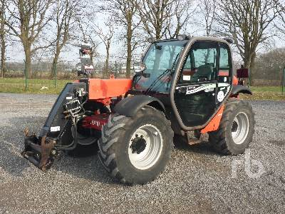 2015 MANITOU MLT629 CLASSIC 4x4x4 Telescopic Forklift