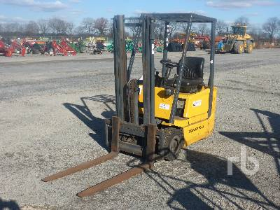 1999 JUNGHEINRICH EFG-DH12.5 Electric Forklift (Parts Only) Parts/Stationary Construction-Other