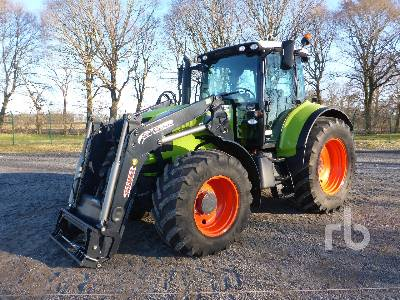 2009 CLAAS ARION 630 MFWD Tractor