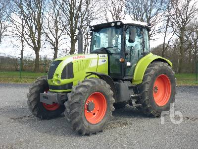 2008 CLAAS ARION 620CIS MFWD Tractor