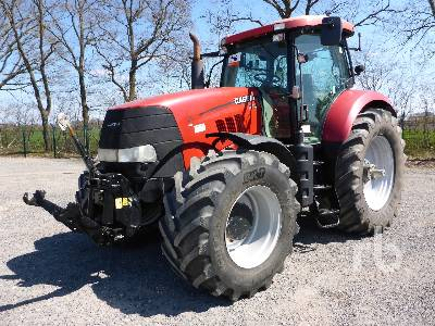2011 CASE IH PUMA CVX180 MFWD Tractor
