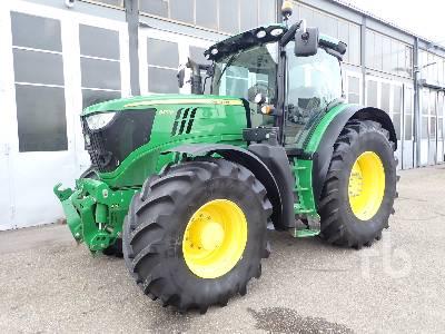 2013 JOHN DEERE 6210R MFWD Tractor